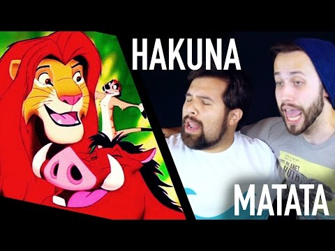 THE LION KING - Hakuna Matata (DISNEY COVER) feat. Jonathan Young