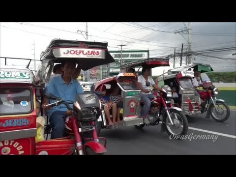 Wild Philippines Trike Ride on the streets of Manila