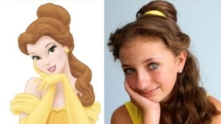 Belle&#8217;s Hairstyle Tutorial &#8211; A CuteGirlsHairstyles Disney Exclusive