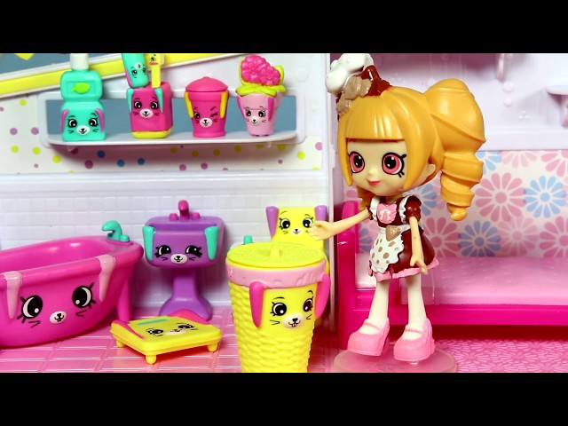 Shopkins Happy Places • Nowy Domek  • bajka po polsku