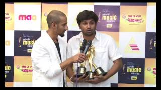 Govindaya Namaha - Pawan Wadeyar at the Samsung Galaxy Star Mirchi Music Awards South 2012-13