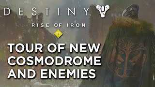 Official Cosmodrome and Gjallarwing Tour - Destiny: Rise of Iron
