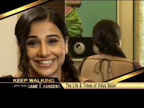 Keep Walking With The Game Changers - Vidya Balan video