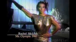 Chicago Health Club Commercial (1985) ft. Rachel McLish
