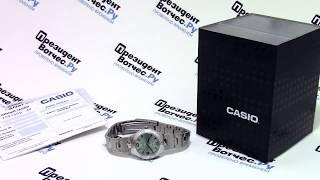 Часы Casio LTP-1241D-3A [LTP-1241D-3AEF] - видео обзор от PresidentWatches.Ru