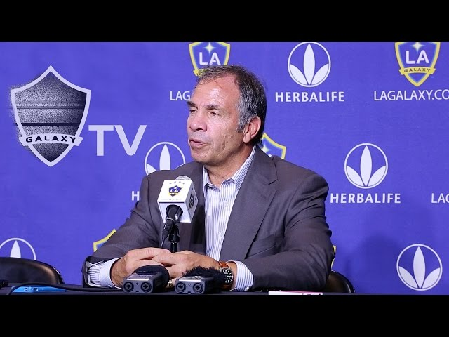 Bruce Arena vs Seattle Sounders | POSTGAME
