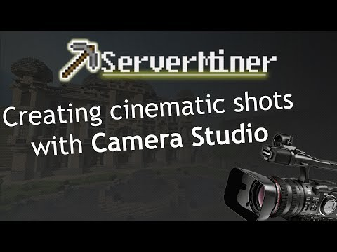 How to create great Minecraft Cinematics with Camera Studio!