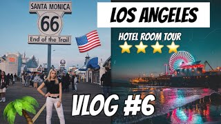 LOS ANGELES HOTEL 4 STELLE TOUR + SANTA MONICA!!