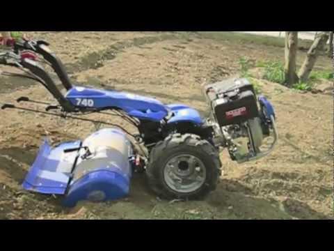 Motocoltivatore bcs 740 powersafe yanmar l100 fresa 80 cm for Youtube motozappa