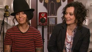 EXCLUSIVE: Watch Linda Perry Sing to Her and Sara Gilbert's Baby Boy