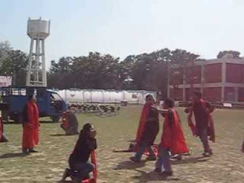 Haalat e Hindustan | street play | @ IIT ROORKEE 2010 | Osmium - The Theatre Group