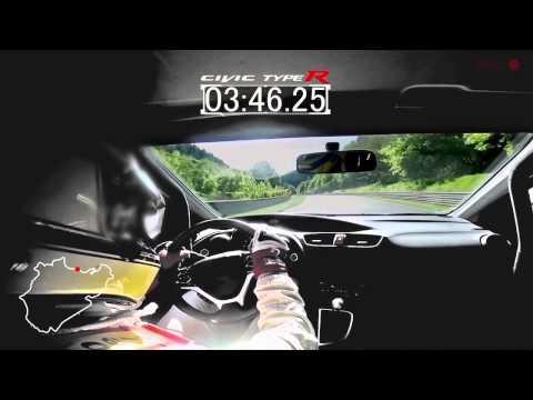Honda Civic Type R (development car) Nürburgring Record 7'50