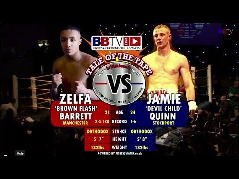 Zelfa Barrett vs Jamie Quinn #BBTVLIVE