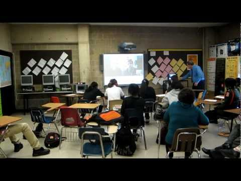 University of Tennessee and Malcolm X Shabazz HS collaborate on science investigation
