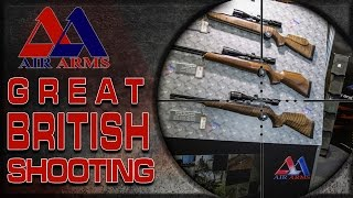 Air Arms - The best of Air Guns at the Great British Shooting Show 2015