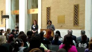 "Councilor Ayanna Pressley: ""My work is about breaking cycles of poverty"""