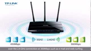 TP-Link N750 Wireless Dual Band Gigabit Router (TL-WDR4300)