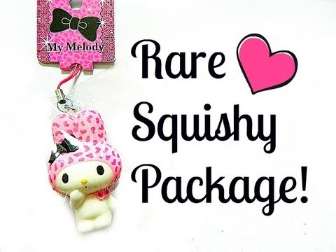 Rare Squishy Package : Rare Squishy Package From JAPAN! How To Make & Do Everything!