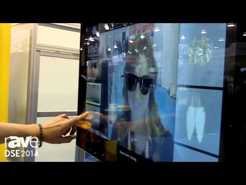 DSE 2014: Advantech Shows The FaceCake Swivel Close-Up Software For Virtual Shopping