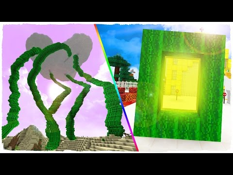 HOW TO MAKE A PORTAL TO THE SKY DIMENSION - MINECRAFT