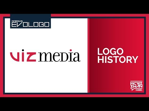 Viz Media Logo History | Evologo [Evolution of Logo]