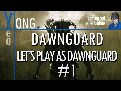 ★ Skyrim - Dawnguard - Let's Play as Dawnguard #1 - CROSSBOW!