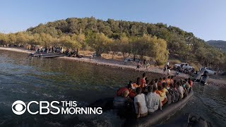 16,000 migrants have fled to Lesbos this year – and there's only one humanitarian boat left to he…