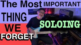The Most Important Thing We Forget When Soloing | Tim Pierce | Guitar Lesson | How To Play