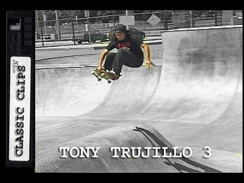 Tony Trujillo Skateboarding Classic Clips #203