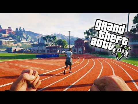 GTA 5 Online - OLYMPIC GAMES! Firing Range, Tennis, Golf, Da