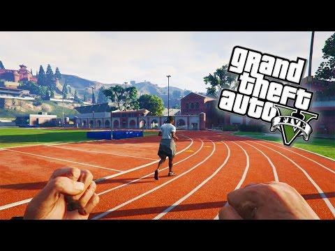 GTA 5 Online - OLYMPIC GAMES! Firing Range, Tennis, Golf, Darts & Arm Wrestling! (GTA V)