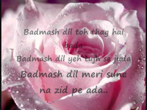 Badmaash Dil---singham--full video song...uploaded by Azaan...
