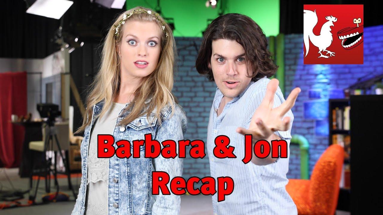 Barbara and Jon Recap