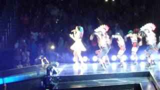 Katy Perry Concert Intro+Eye Of The Tiger Live at Prudential Center