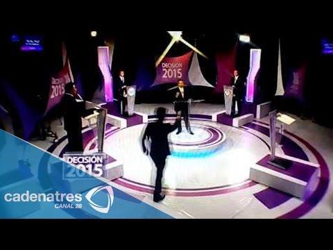 Monterrey: Patricio Zambrano estalla contra otro candidato en pleno debate