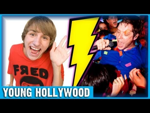 OK Go &amp; Fred Figglehorn Prep for Cage Match!