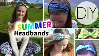 DIY Summer Headbands