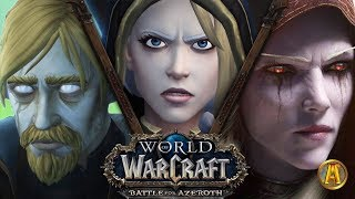Tides of Vengeance 2 - ALL Cutscenes [8.1.5 WoW: Battle for Azeroth]