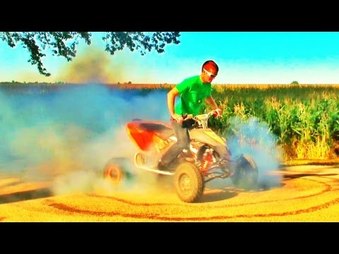 Huge KTM Burnout