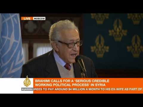 Brahimi urges political fix in Syria
