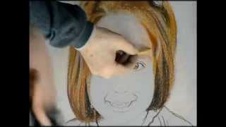 Speed Painting Portrait. Speed retrato paso a paso