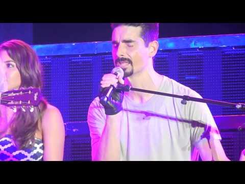 Backstreet Boys - Back to Your Heart (with Gary Baker) - Tuscaloosa - 8/27/13