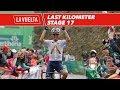 Last kilometer - Stage 17 - La Vuelta 2017