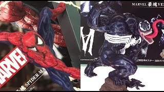 TCC2018 Banpresto - Venom & Spiderman - Figure Display バンプレスト - ヴェノム & スパイダーマン - フィギュア展示