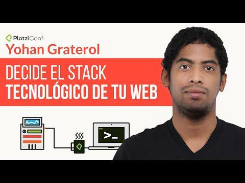 �Cu�l es el stack de tu web? | Conferencia en PlatziConf, Febrero 2015