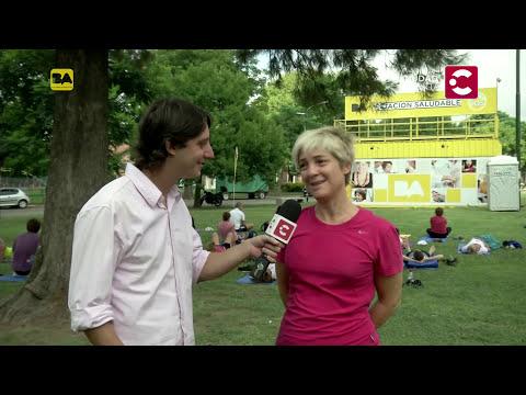 Clases gratuitas de Yoga en Parque Saavedra - Por la ciudad