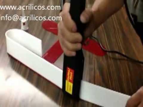 Como doblar acrilico