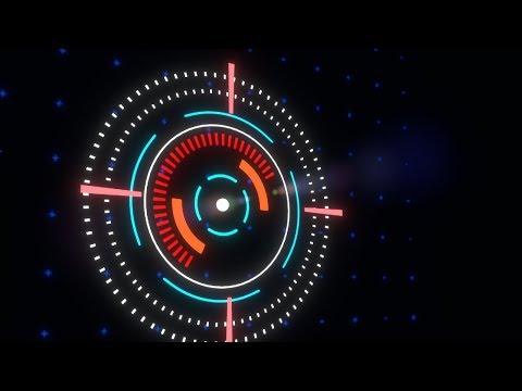 Sci-Fi Hud Animation | Blender 3d