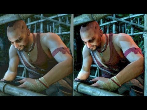 Far Cry 3 Graphics Comparison