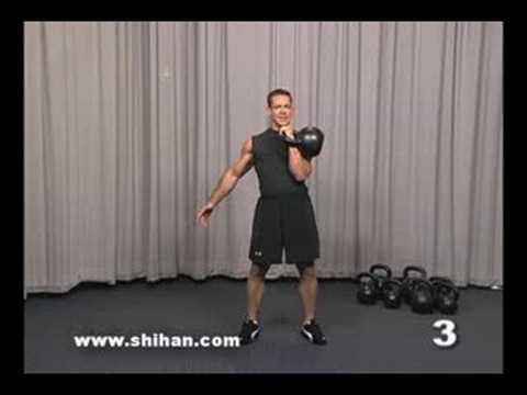 Steve Cotter Kettlebell Overhead Press Instructional Video Image 1